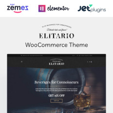 Elitario - Liquor Store WooCommerce Theme. Elitario - Tema WordPress de Loja  ... 3be24e358a