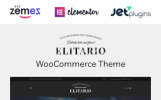 Elitario - thème WordPress pour magasin d'alcool