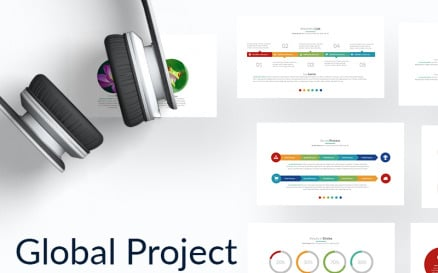 Global Project PowerPoint template PowerPoint Template