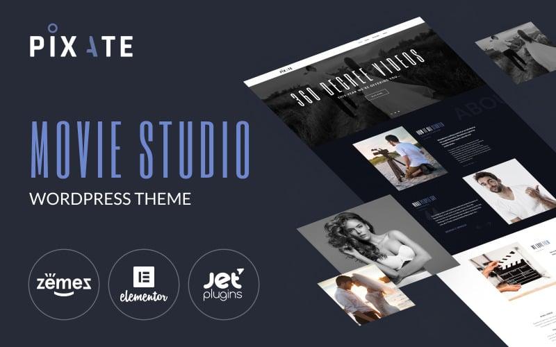 Pixate - Movie Studio WordPress theme WordPress Theme