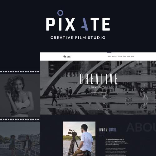 Pixate - Movie Studio WordPress Theme - HTML5 WordPress Template