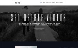 Pixate - шаблон WordPress сайта видеостудии