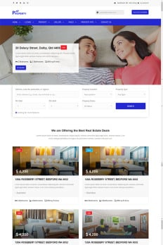 mortgage website template