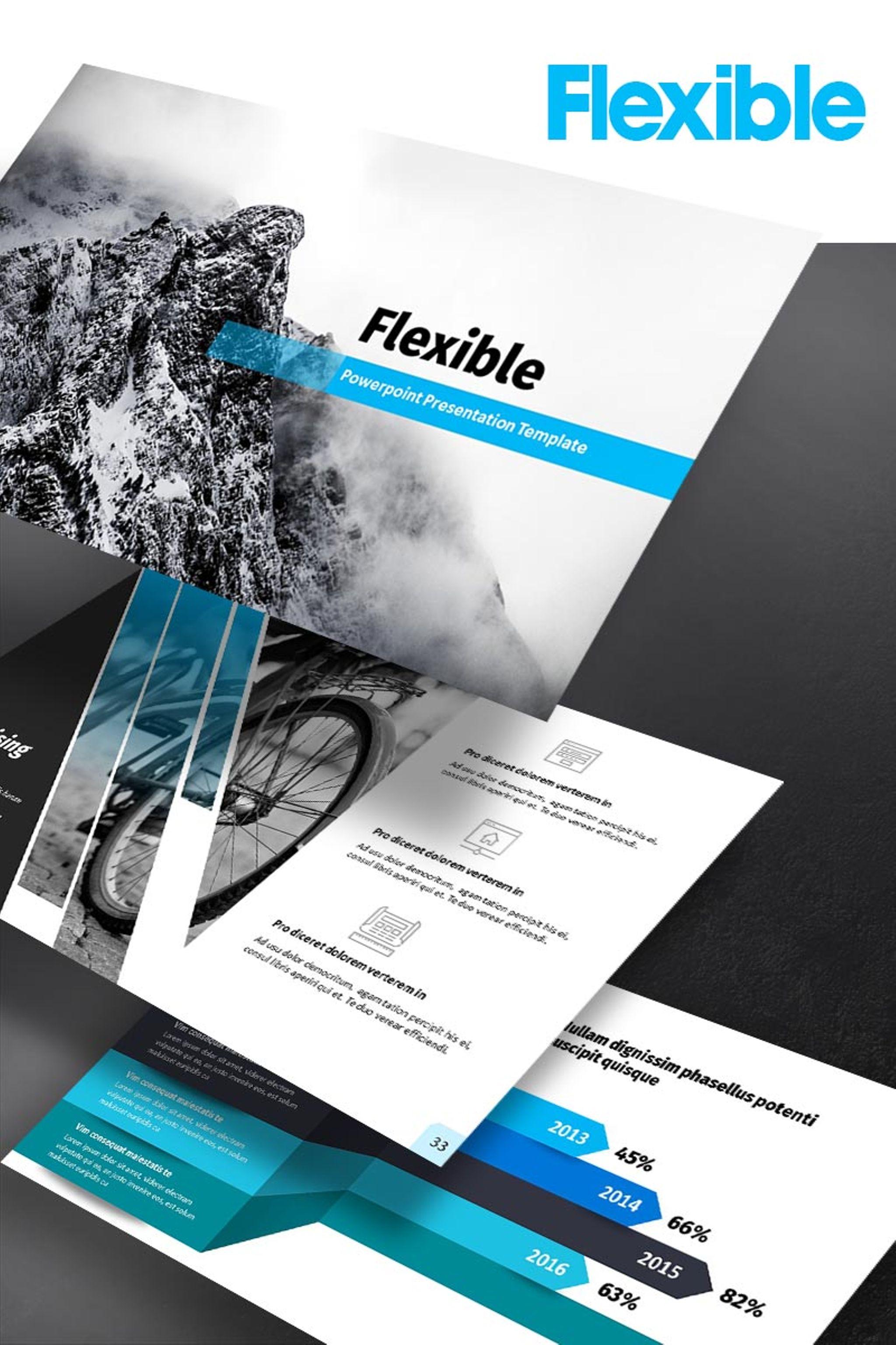 Szablon PowerPoint Flexible #65151