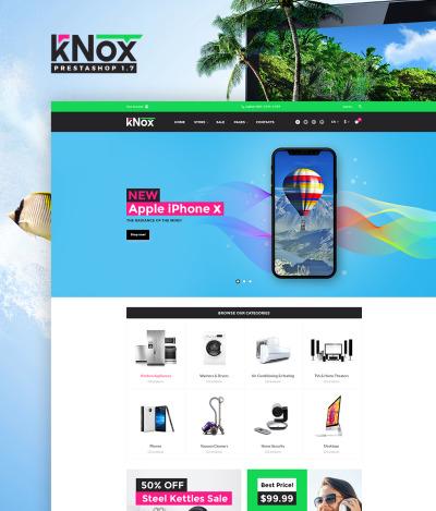 Responsive Tema De PrestaShop #65112 para Sitio de  para Tienda de Electrónica