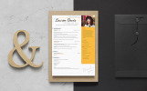 Lauren Davis Hair Stylist Resume Template