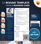 Resume Templates #65235 | TemplateDigitale.com