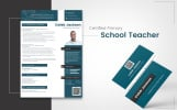 Caleb Jackson - Teaching Job, Education Resume Template
