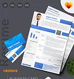 Resume Templates #65241 | TemplateDigitale.com