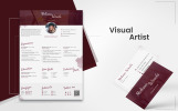 Melissa Woods - Visual Artist Resume Template