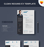 Resume Templates #65250 | TemplateDigitale.com