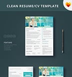 Resume Templates #65251 | TemplateDigitale.com