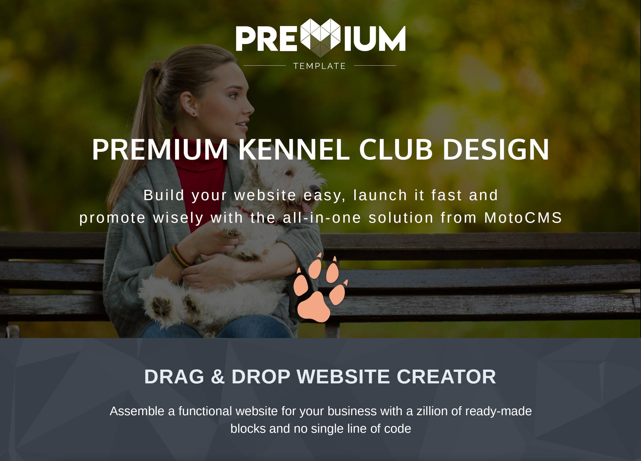 DOGGO - Kennel Club Premium Moto CMS 3 Template