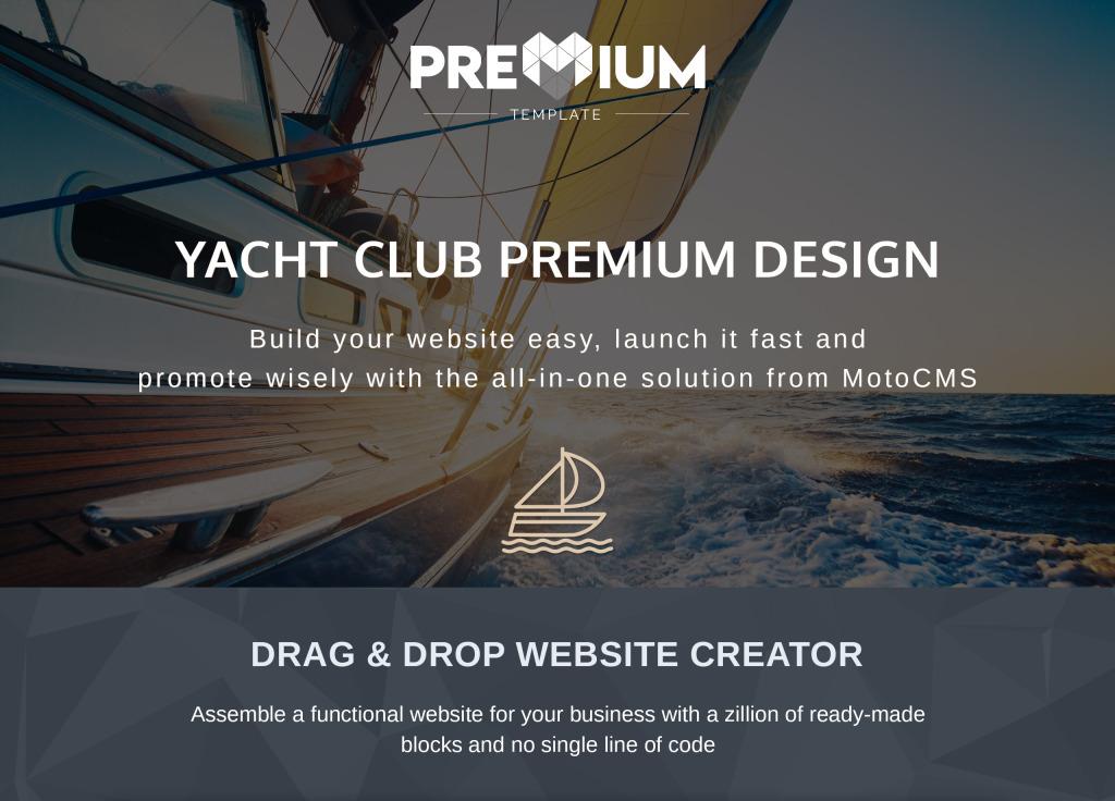 Oceanyacht yacht club premium moto cms 3 template 65290 properties toneelgroepblik Images