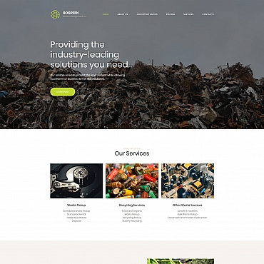 Preview image of Gogreen - Garbage Services Premium