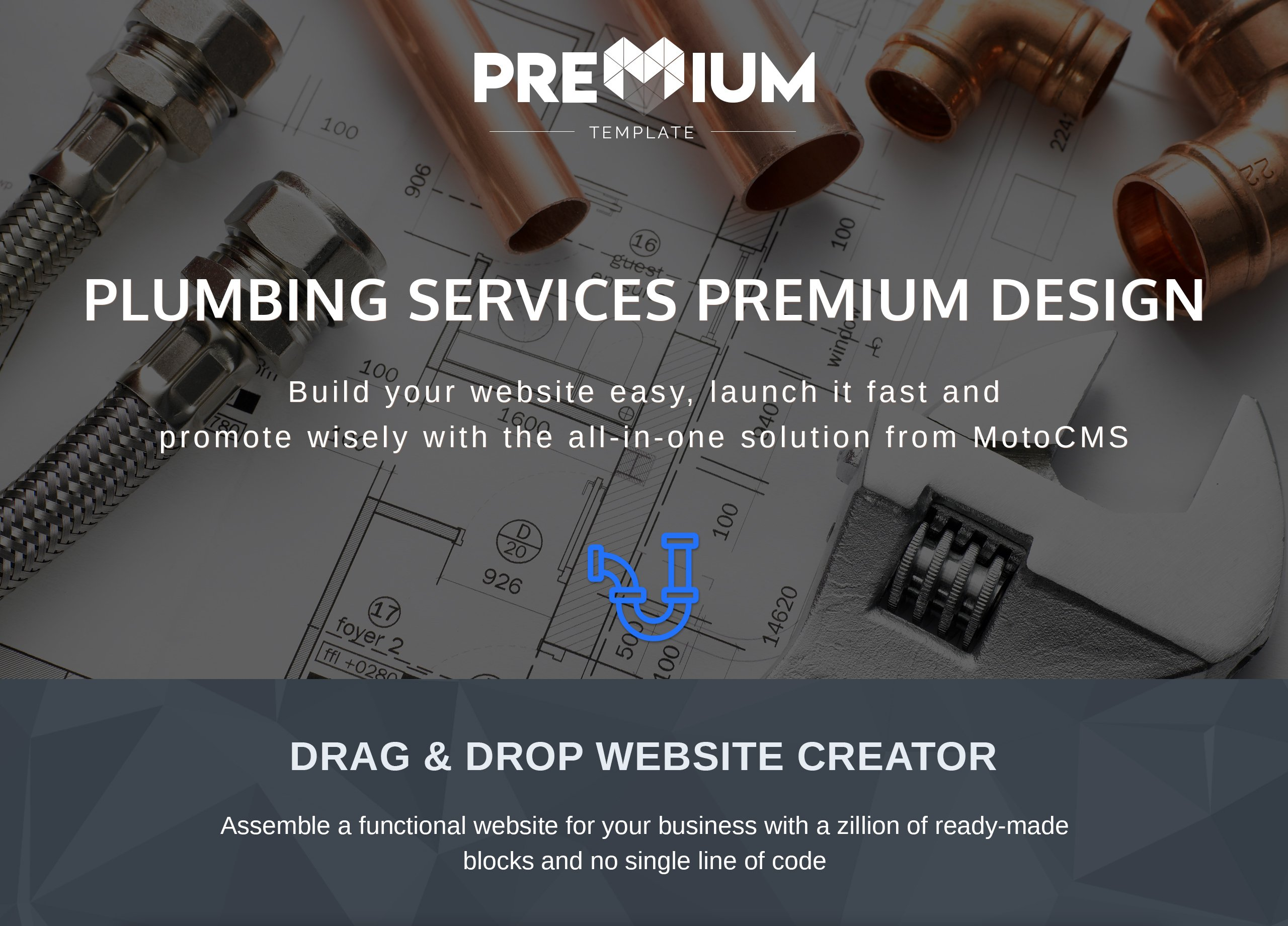 Plumberwo - Premium Moto CMS 3 Template