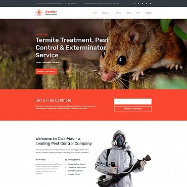 Preview image of ClearWay - Pest Control Premium