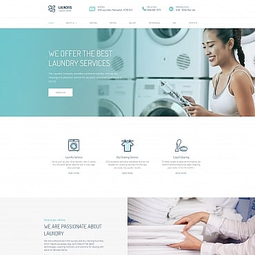 Preview image of Laundromats, Laundry and Dry Cleaning Premium