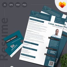 caleb jackson teaching job education premium resume template