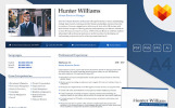 Hunter Williams - Human Resources Manager Resume Template