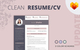 Kate Shafer - Interior Designer Resume Template