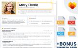 Mary Eberle - Certified Teacher Resume Template