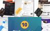 "Modello Bundle #65240 ""10 Best Professional CV and Resume Templates"" New Screenshots BIG"