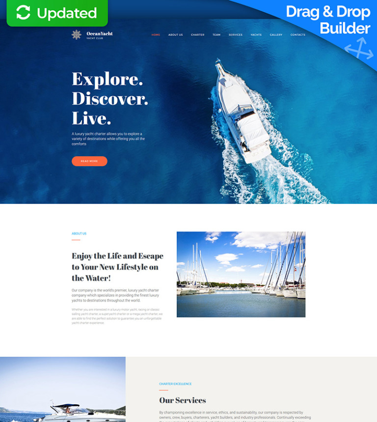 Oceanyacht yacht club premium moto cms 3 template 65290 oceanyacht yacht club premium moto cms 3 template new screenshots big toneelgroepblik Image collections