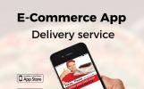 """""""Pizza Delivery E-Commerce"""" modèle d'application adaptatif"""