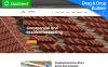 Responsives Moto CMS 3 Template für Dachdeckerfirma  New Screenshots BIG