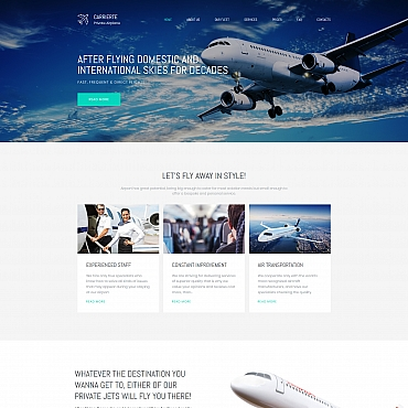 Preview image of Carrierte - Private Airline Premium