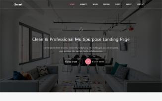 Smart - Responsive Bootstrap 4 HTML5