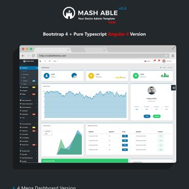 Preview image of Mash Able Bootstrap 4