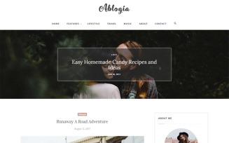 Abloga - HTML5 Blog