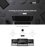 Веб дизайн. Шаблон сайта 65334