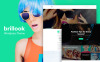 Responsivt WordPress-tema för modeblogg New Screenshots BIG