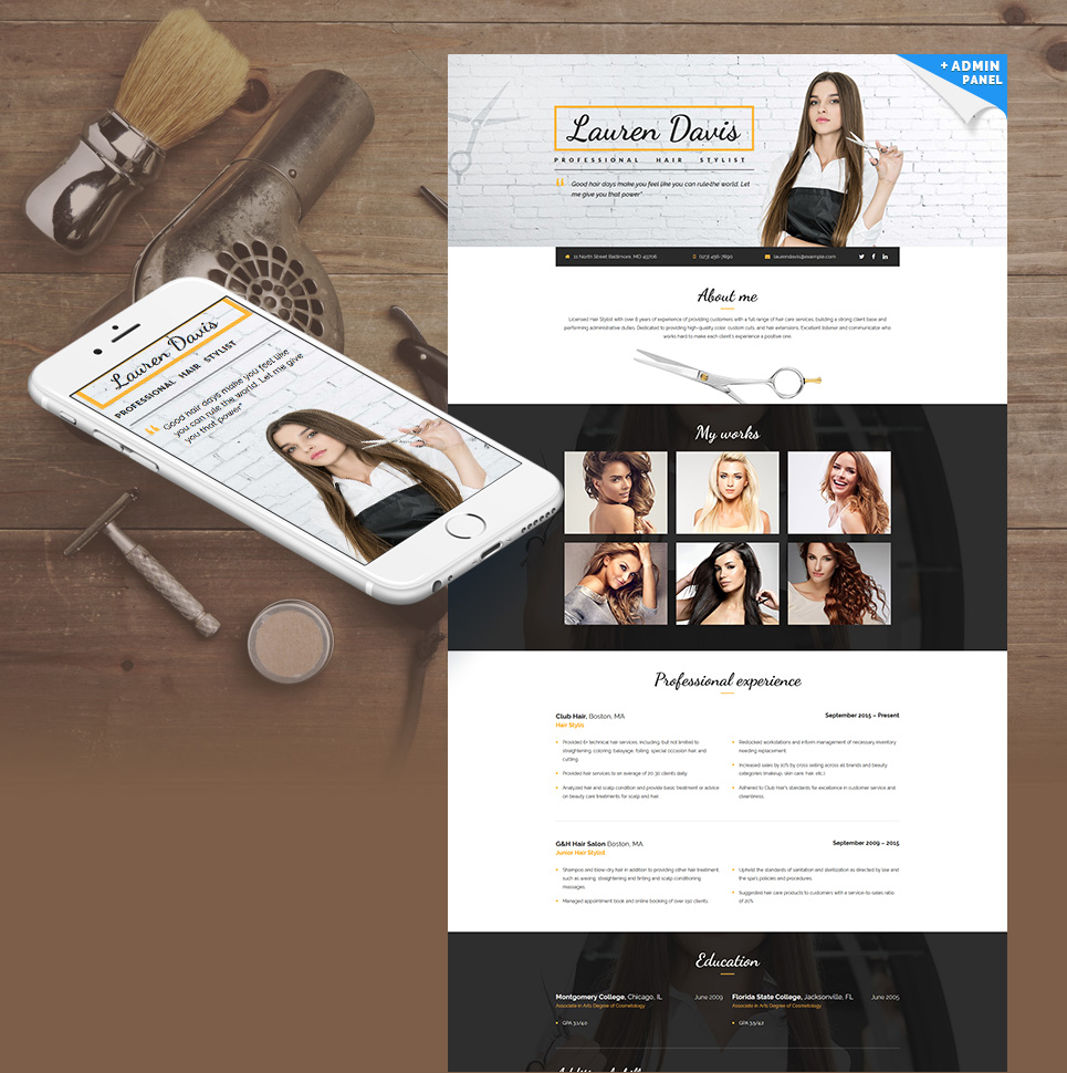 Website Design Template 65372 -