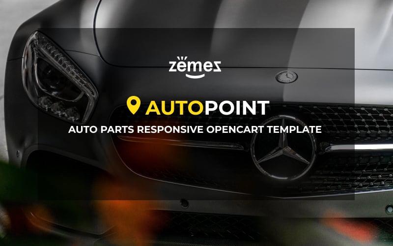 Auto Parts Responsive Template OpenCart №65320