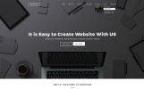 """Black & White Labels"" Bootstrap Website template"