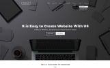 Bootstrap Black & White Labels Web Sitesi Şablonu