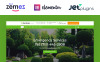 """Jardinier - Landscaping Services WordPress Theme"" Responsive WordPress thema New Screenshots BIG"
