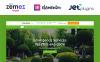 Jardinier - motyw WordPress dla strony firmy projętującej krajobraz New Screenshots BIG