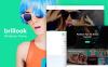 "Template WordPress Responsive #65338 ""Brillook Lite - Fashion Blog Free WordPress Theme"" New Screenshots BIG"