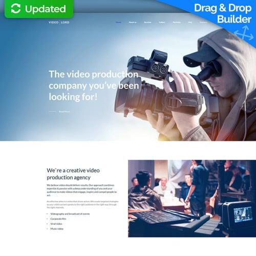 Video Production Studio Premium - MotoCMS 3 Template based on Bootstrap