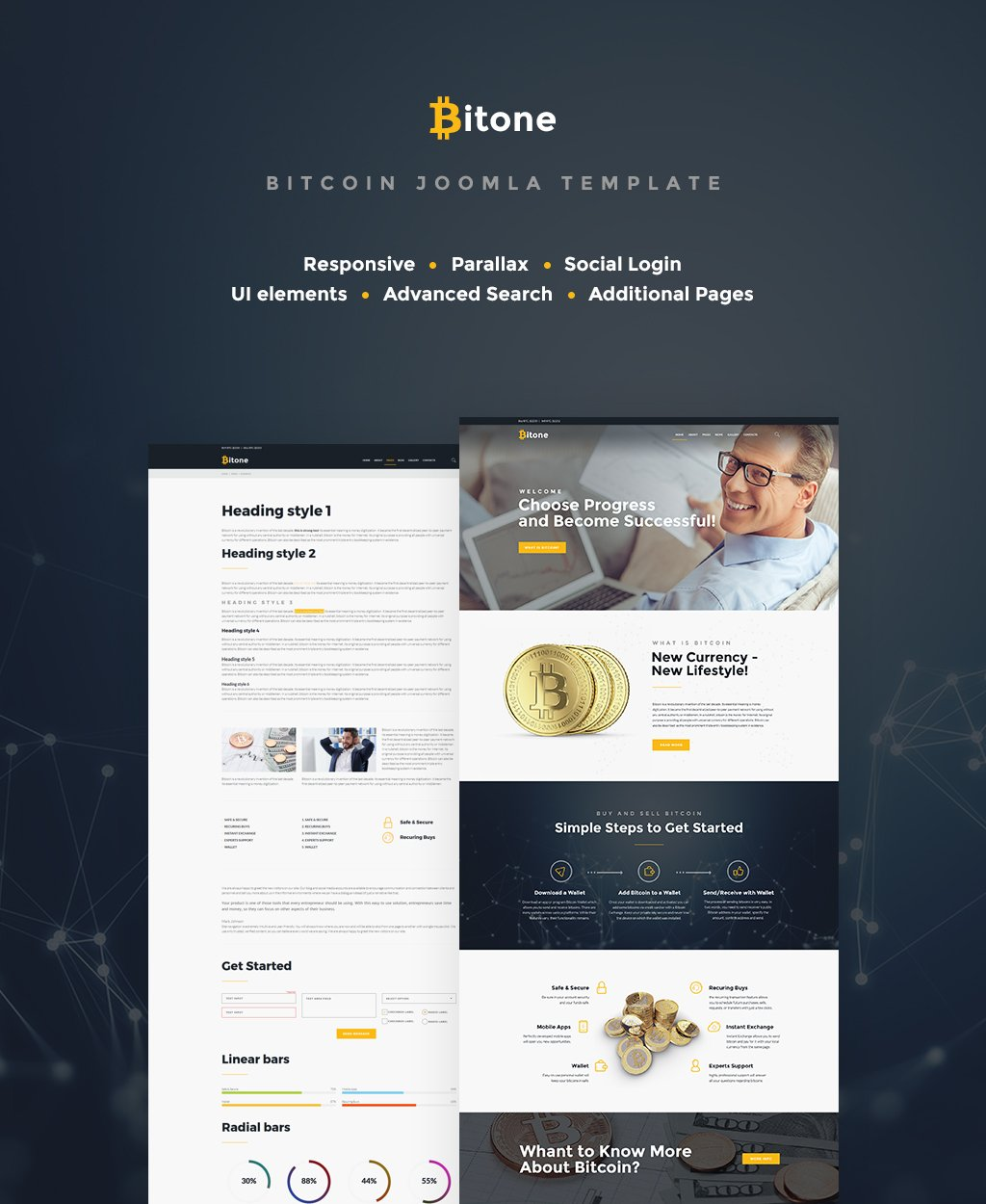 how to upload a template in joomla - business joomla template 65414