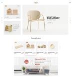 Интерьер и мебель. Шаблон сайта 65418