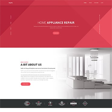 Preview image of Repfix - Interior Renovation WordPress Theme
