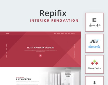 Repfix - Interior Renovation WordPress Theme