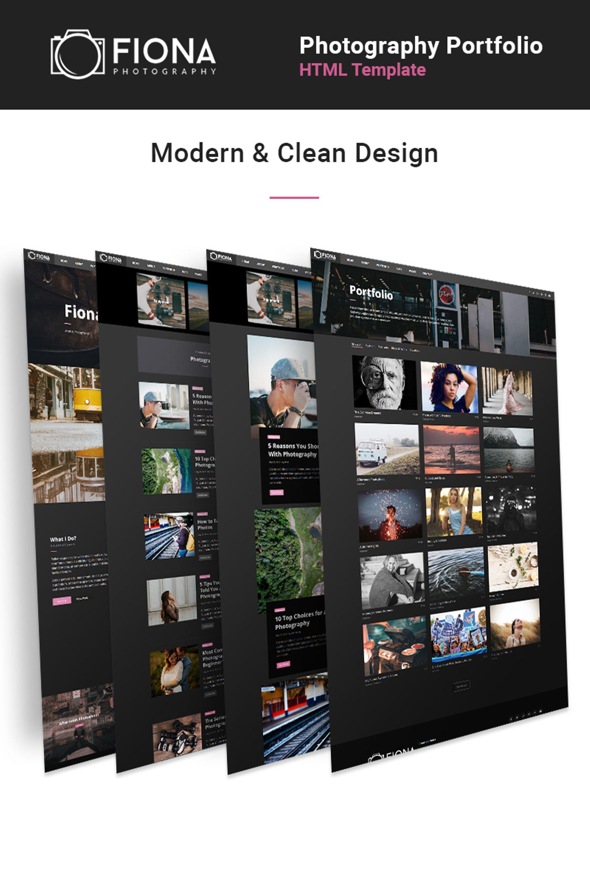 Website Design #65436 Studio Photographer Portfolio Custom Website ...