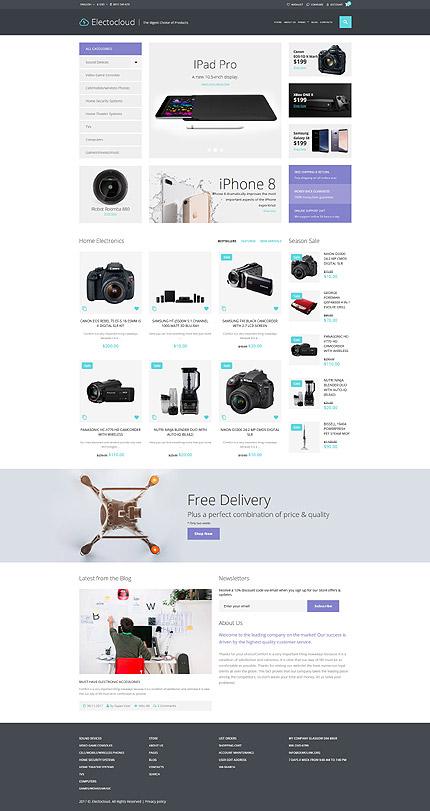 Electrocloud - Mobile Store Joomla Template 3